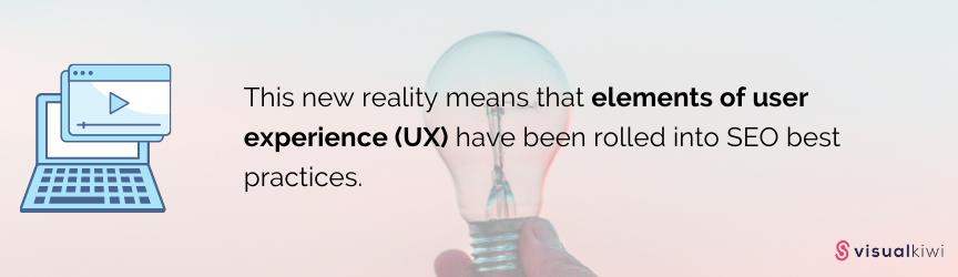 SEO + UX = Success