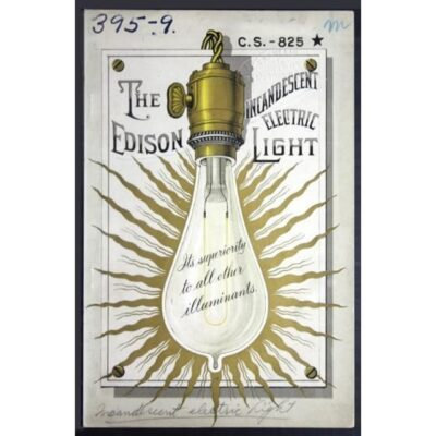 "magazine called ""The Edison Electric Lighting Company Bulletin"""
